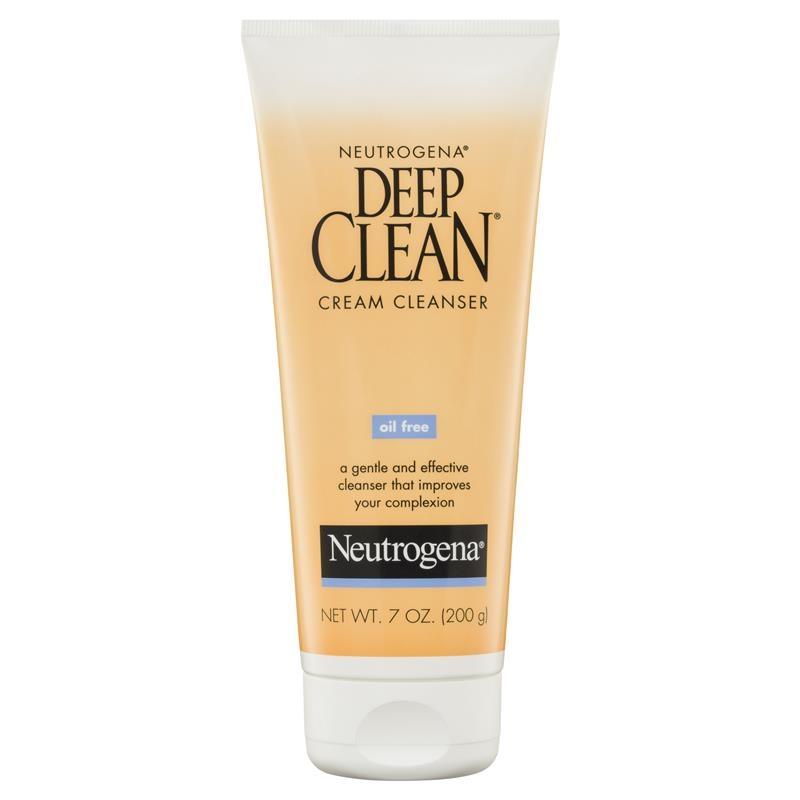 Sữa rửa mặt Neutrogena Deep Clean Cream Cleanser 200g