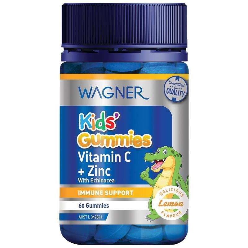 Wagner Kids Gummies Vitamin C + Zinc 60 Gummies