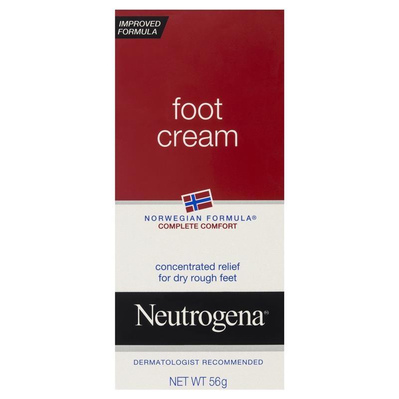Neutrogena Norwegian Formula Complete Comfort Foot Cream 56g