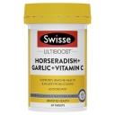 Swisse Horseradish + Garlic + Vitamin C 60 Tablets