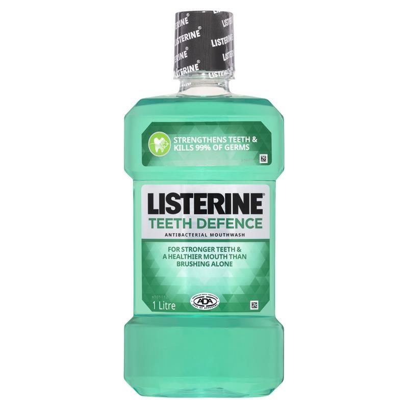 Listerine Teeth Defence Mouthwash 1 Litre