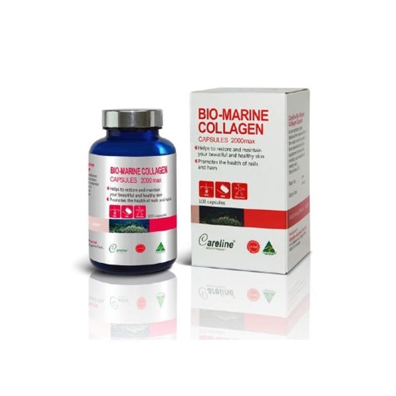 Careline Bio Marine Collagen 100 capsules