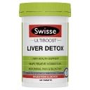 Viên uống thải độc gan - Swisse Ultiboost Liver Detox 120 Tablets