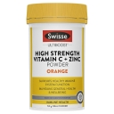 Swisse Vitamin C + Zinc Powder Orange 150g