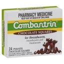 Thuốc tẩy giun Combantrin Chocolate Squares 24