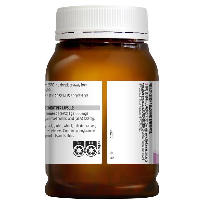 Tinh dầu hoa anh thảo Blackmores Evening Primrose Oil 190 Capsules