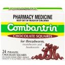 Thuốc tẩy giun Combantrin Chocolate Squares X 24