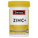 Viên uống bổ sung kẽm Swisse Ultiboost Zinc+ 60 Tablets