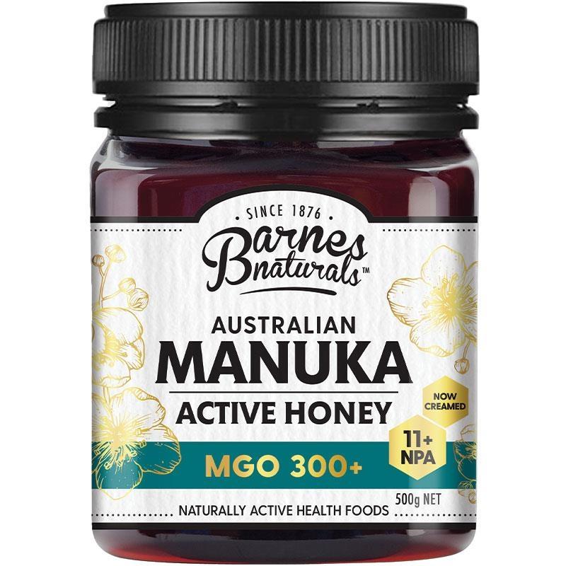 Barnes Naturals Australian Manuka Honey 500g MGO 300+