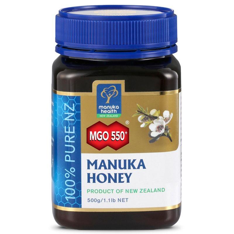 Manuka Health MGO 550+ Manuka Honey 500g (Not For Sale In WA)