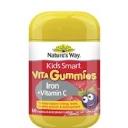 Nature's Way Kids Smart Vita Gummies Iron + Vitamin C 60 Gummies