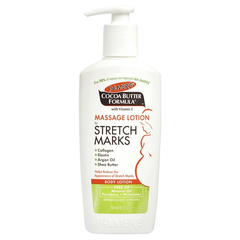 Kem trị rạn da Palmers Cocoa Butter Formula Pregnancy Massage Lotion For Stretch Marks 250mL