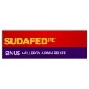 Sudafed PE Sinus + Allergy & Pain Relief 48 Tablets