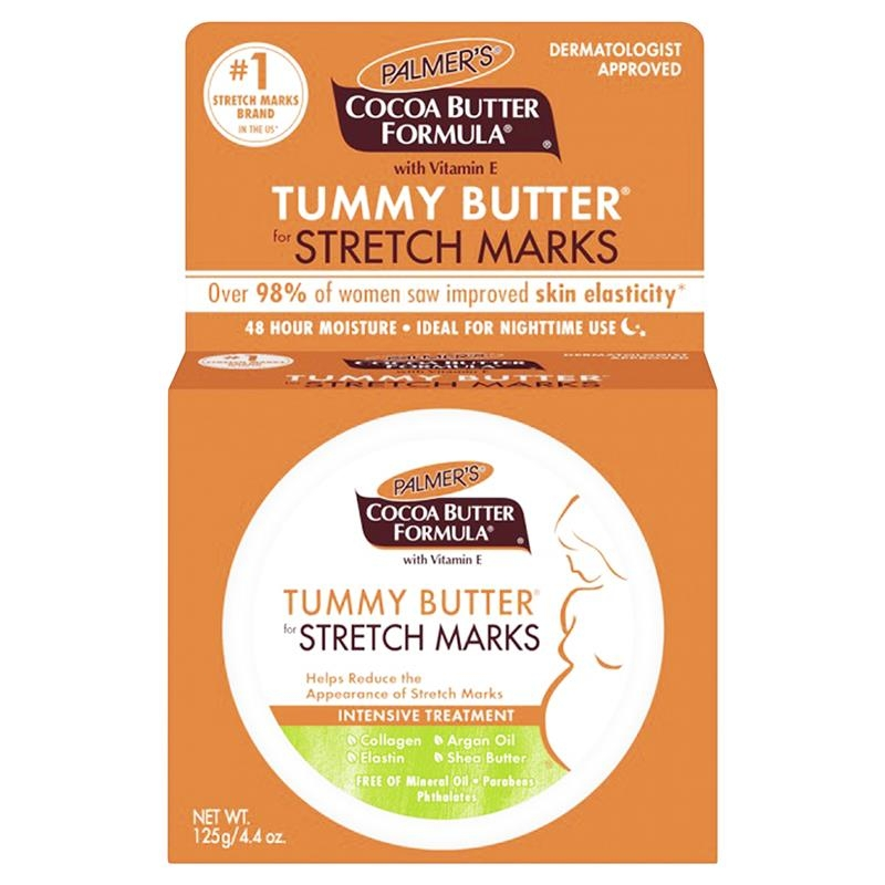 Kem trị rạn da Palmers Cocoa Butter Tummy Butter for Stretch Marks 125g