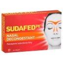 Sudafed PE Nasal Decongestant Tablets 24 Pack