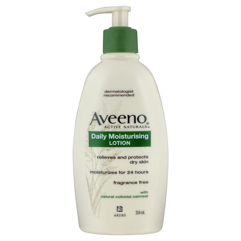Aveeno Active Naturals Daily Moisturising Lotion Fragrance Free 354mL