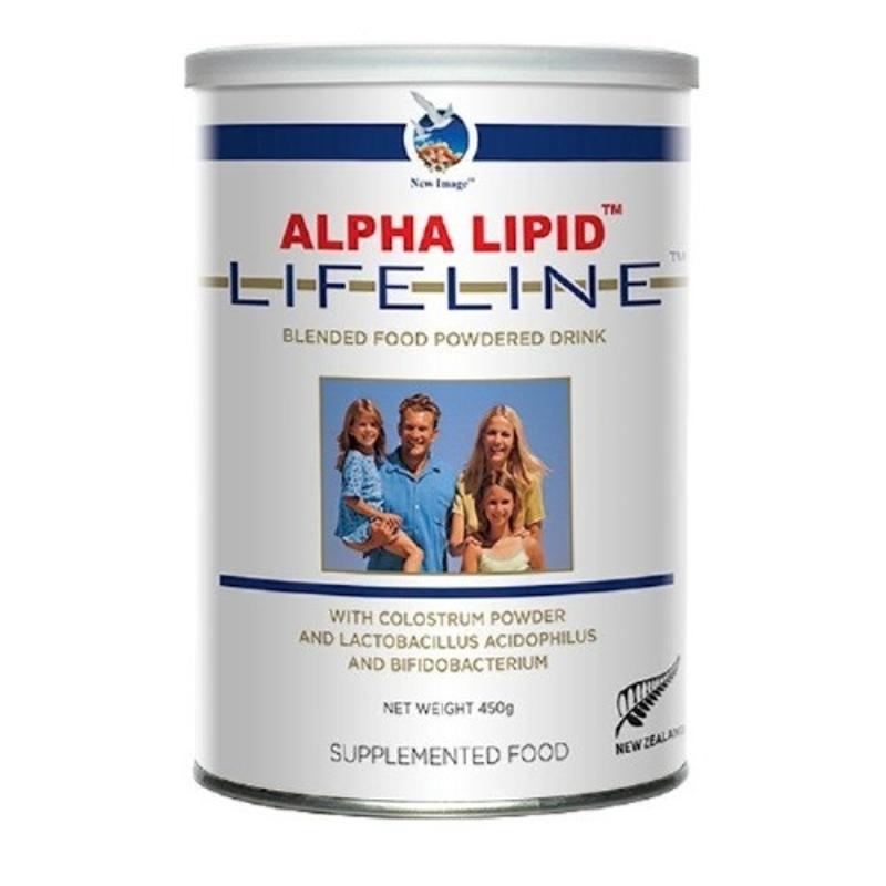 Alpha Lipid Lifeline with Colostrum 450g