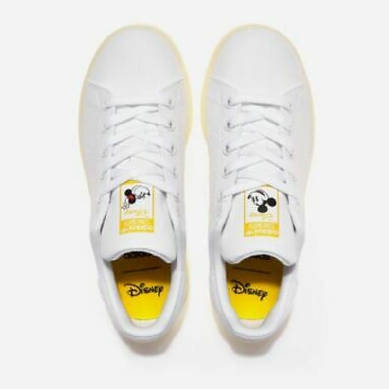 Giày thể thao Adas Originals Stan Smith x Disney Mickey Mouse Shoes,Fashion Sneakers GW2255