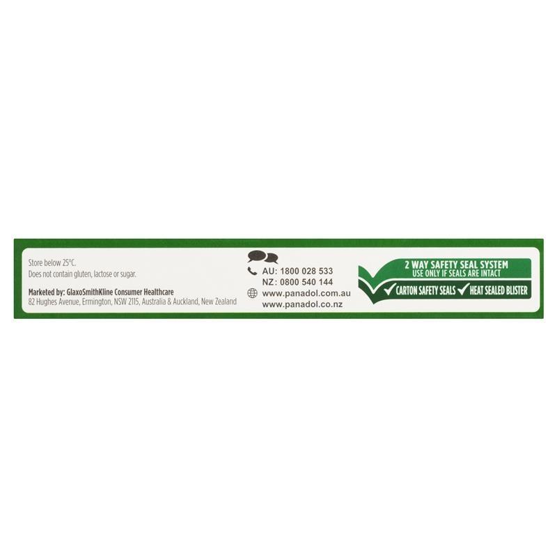 Panadol Extra with Optizorb Paracetamol Pain Relief Caplets 20