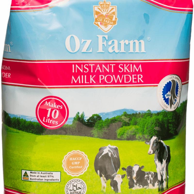 Oz Farm Instant Skim Cream Milk Powder 1KG