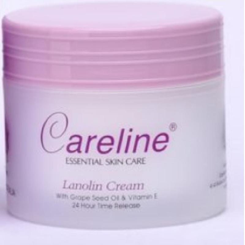 Careline Lanolin Cream With Grape Seed Oil & Vitamin E