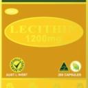 Mầm đậu nành Wealthy Health Lecithin 1200mg 200 Capsules