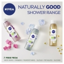 Sữa tắm Nivea Naturally Good Cotton Flower & Organic Oil Infused Shower Gel 300ml