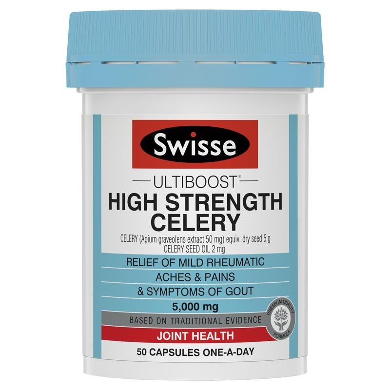 Swisse Celery 5000mg 50 Capsules
