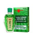 Lốc 12 chai dầu xanh con ó Eagle Brand Green Medicated Oil 24ml