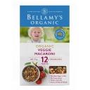 Mỳ ống ăn dặm rau củ Bellamys Organic Veggie Macaroni 175g