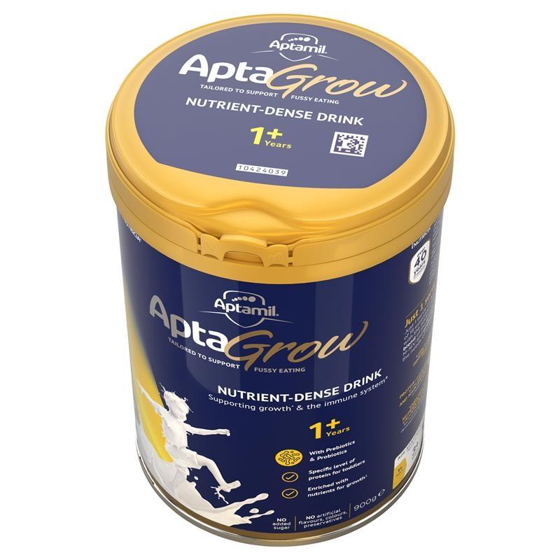 AptaGrow Nutrient-Dense Milk Drink From 1+ Years 900g