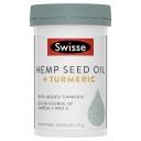 Swisse Hemp Seed Oil + Turmeric 60 Capsules