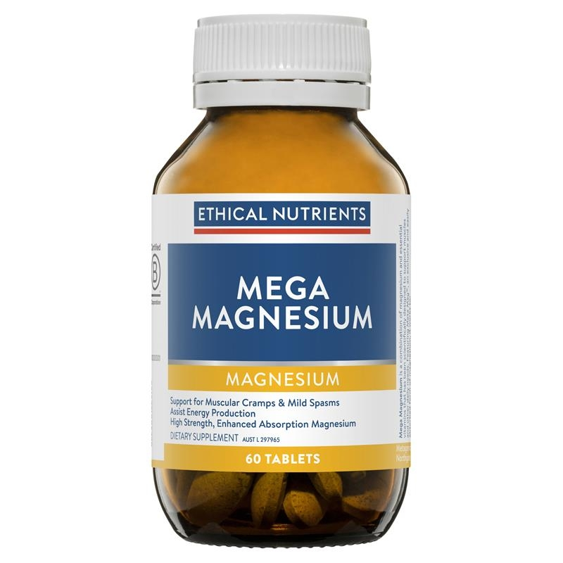 Ethical Nutrients Mega Magnesium 60 Tablets