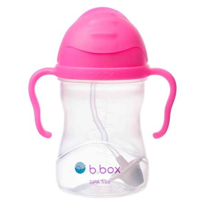 B.BOX sippy cup 240mL - PINK POMEGRANTE