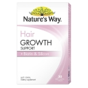 Viên uống hỗ trợ mọc tóc Nature's Way Hair Growth Support + Biotin & Silicon 30 Tablets