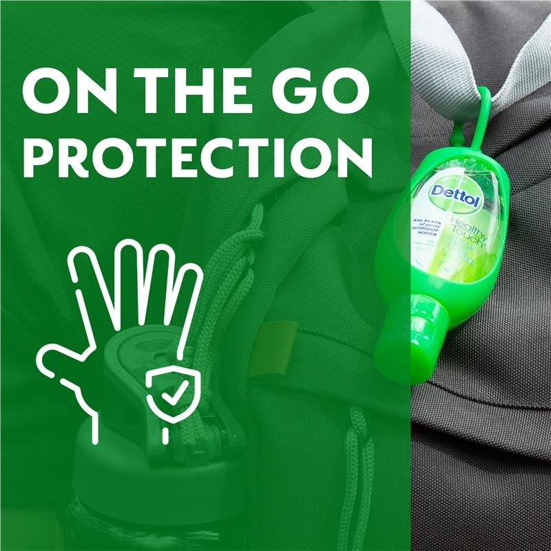Nước rửa tay Dettol Instant Liquid Hand Sanitiser Original Antibacterial 50ml