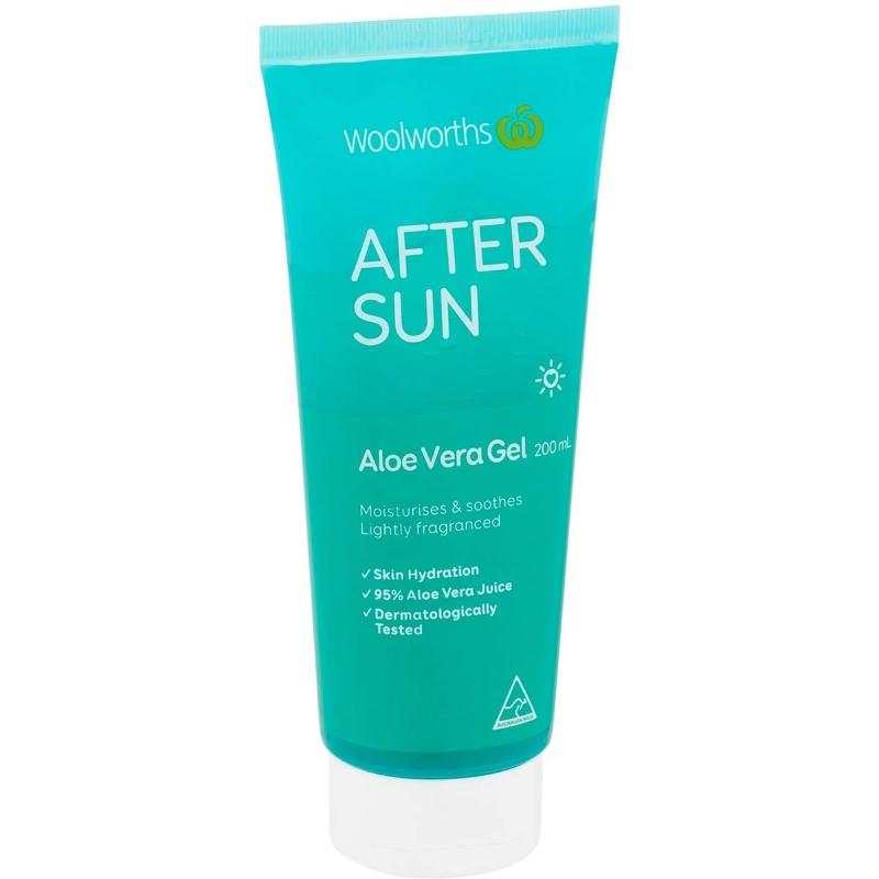 Woolworths After Sun Aloe Vera Tube 200mL