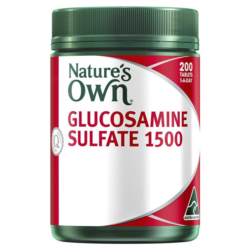 Natures Own Glucosamine Sulfate 1500 200 Tablets