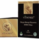 VITATREE Mega Sheep Placenta 80000 Max 60 Capsules