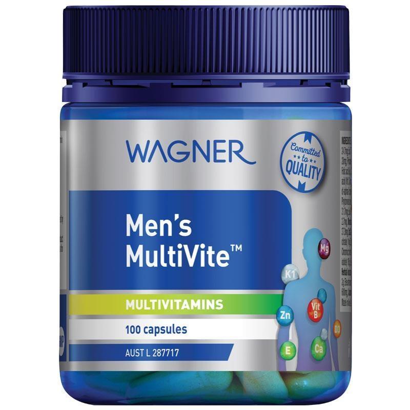 Wagner Mens Multivite 100 Capsules