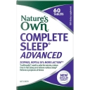 Natures Own Complete Sleep Advanced 60 Tablets New