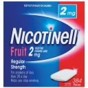 Nicotinell Fruit Gum 2mg 384 Pack