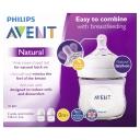 Avent Natural 125ml Feeding bottle 2pk