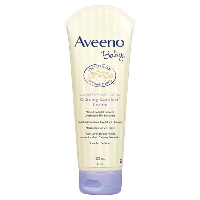 Aveeno Baby Calming Comfort Lavender & Vanilla Scented Moisturising Lotion 226mL