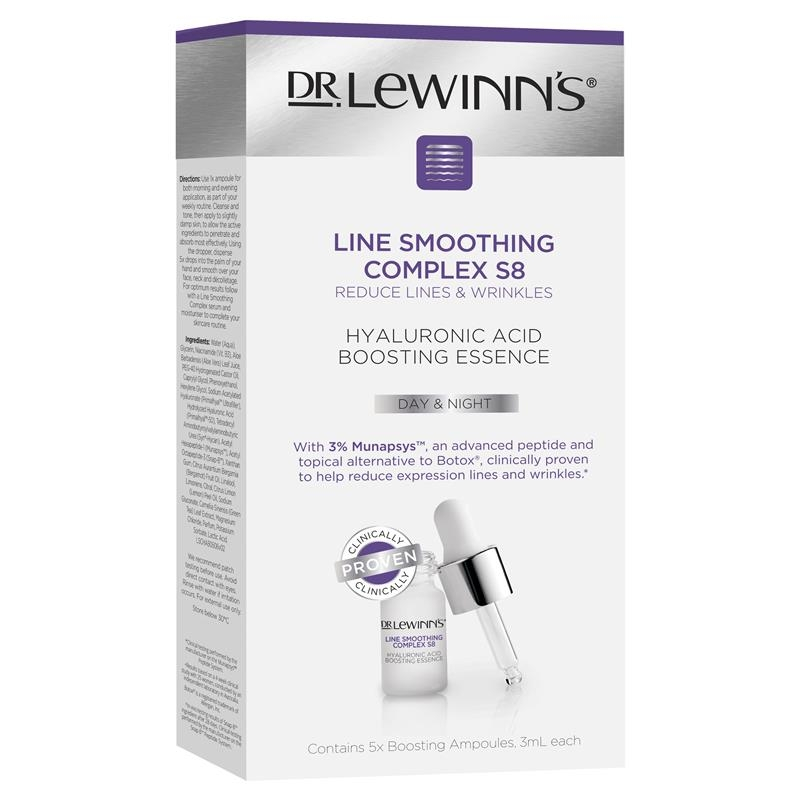 Dr LeWinn's Line Smoothing Complex S8 Hyaluronic Acid Booster Ampolules 5x3ml