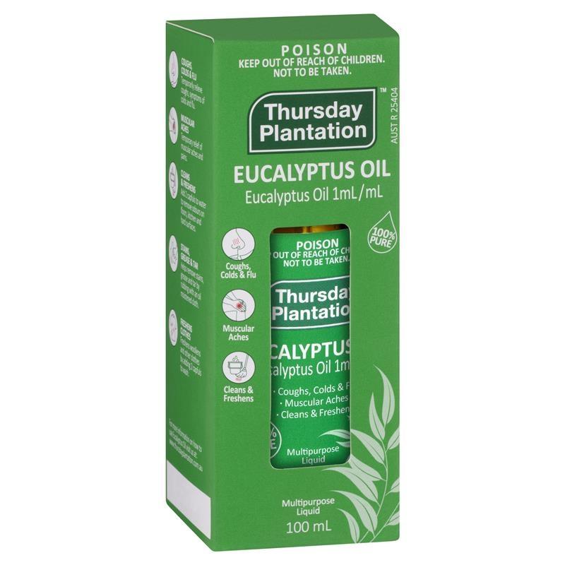 Thursday Plantation 100% Pure Eucalyptus Oil 100ml