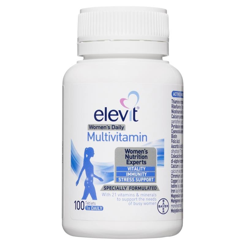 Elevit Women's Daily Multivitamin Tablets 100 pack (100 days)