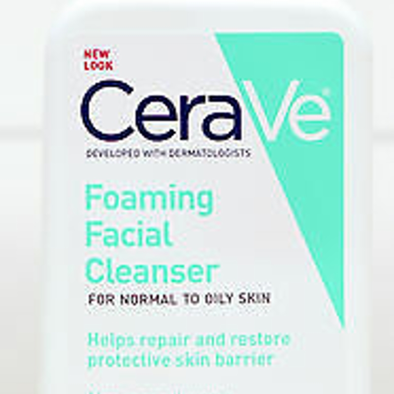 New CeraVe Foaming Cleanser 473ml (Dermatologist Recommended Normal/Oily Skin)