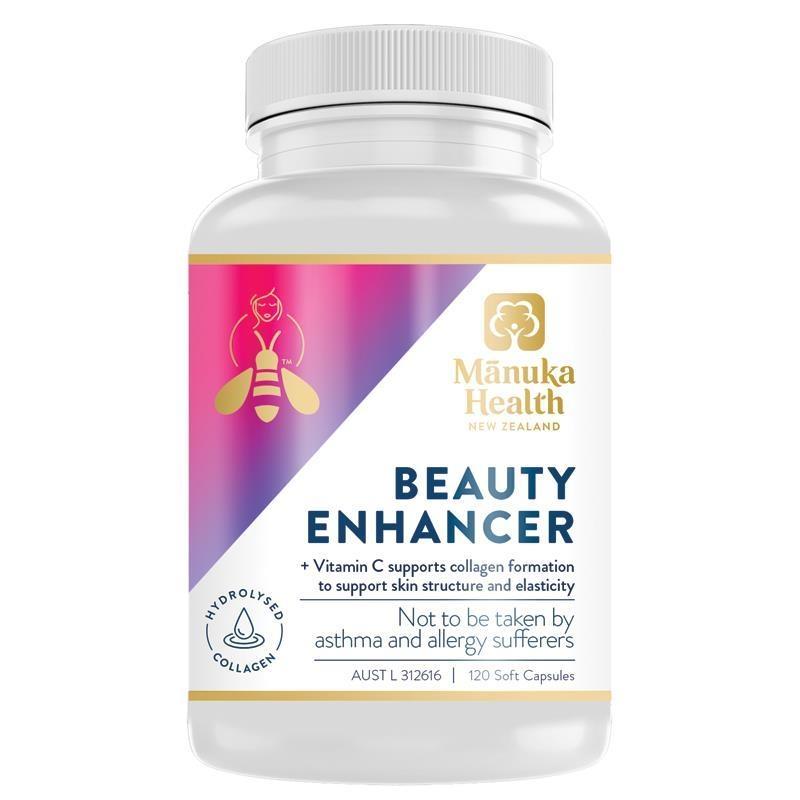 Manuka Health Beauty Enhancer 120 Softgel Capsules