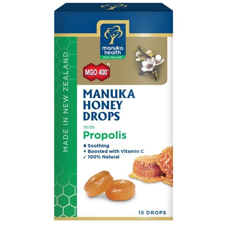 Manuka Health Manuka Honey Drops Propolis 15 Pack 65g